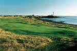 Scotland - The Ailsa Course at Turnberry, site of the Nicklaus/Watson duel in the 1977 Open, Greg Norman's runaway victory in 1986 and Nick Price's late round comeback in 1994. When one considers golf and scenery, Ailsa's only peers are Pebble Beach and Old Head.