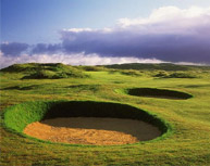 Ballyliffin Golf Club - To say this now glorious club has had it's share of troubles in its history would be an understatement.  But what has emerged is one of the finest clubs and two of the greatest, most challenging and picturesque courses in the world.   The Glashedy Links measure a formidable 7217 from the tips with an off-balance 35 for par on the front and 37 on the back (three par 3's and three par 5's).   It's older brother, the Old Links is a more manageable 6600 yards par 71 but don't let the differences in distance lull you into thinking the old timer to be a piece of cake.  It's not.  Moments spent regretting slight misclub will be comfortable by some of the most spectacular views of your journey