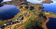 The Lough Erne Resort Faldo Course is situated on a peninsula on Northern Ireland's huge & beautiful Lough Erne. Although a considerable distance from the sea, the fairways are rock hard and links like. Eleven of the eighteen holes play along the water. A most unusual course that should be played by any golfer visiting the area.