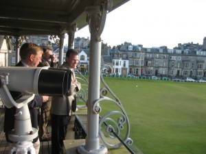 R&A Clubhouse Balcony